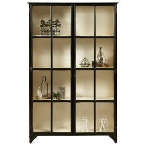 Pulaski Furniture Accents Metal Display Cabinet