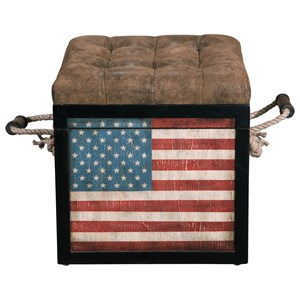 Pulaski Furniture Accents Ottoman