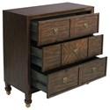 Pulaski Furniture Accents 3 Drawer Tobago Chest