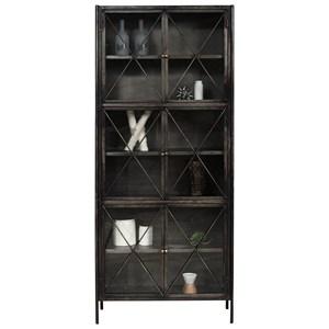 Iron Display Cabinet