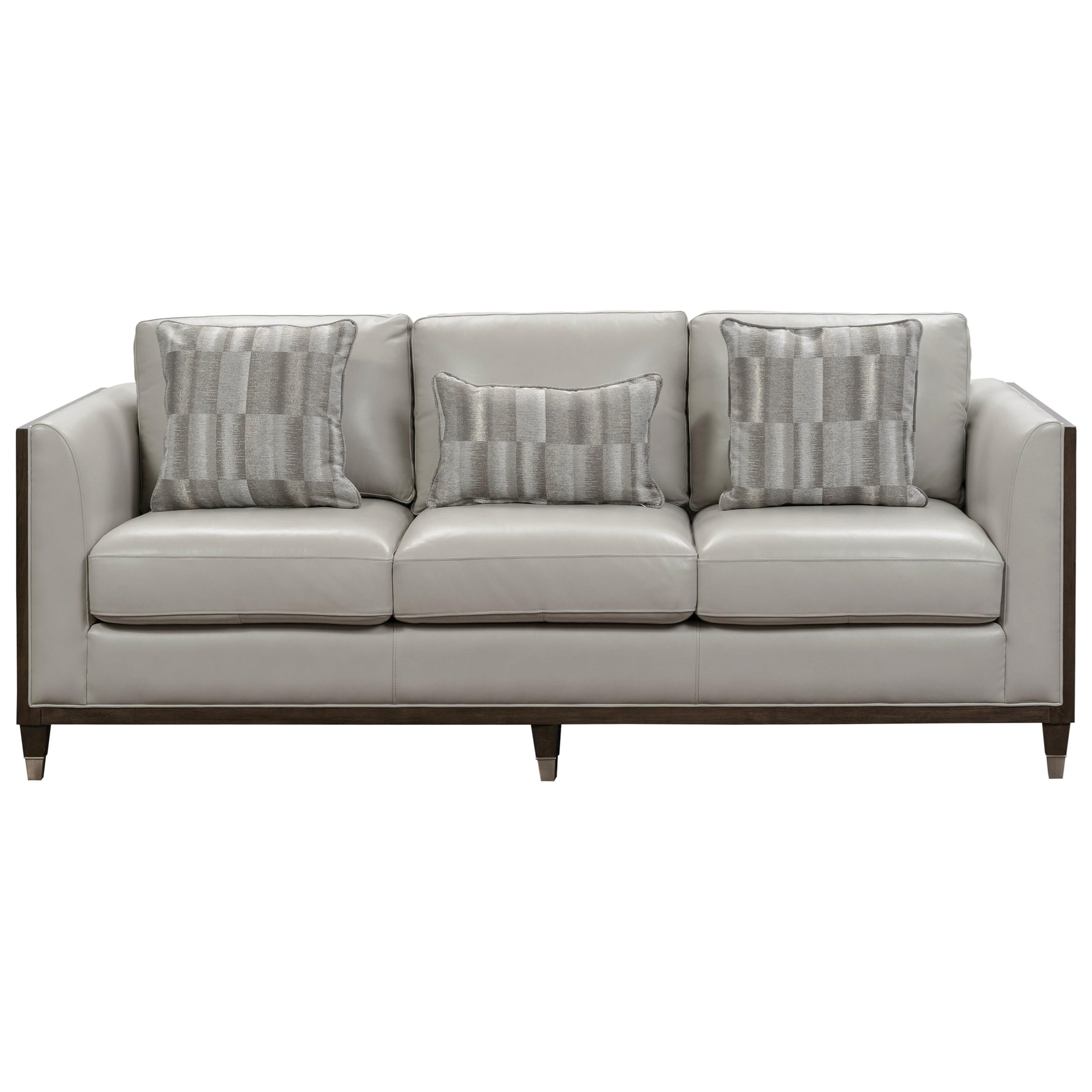 Addison Stationary Uph Sofa by Pulaski Furniture at A1 Furniture & Mattress