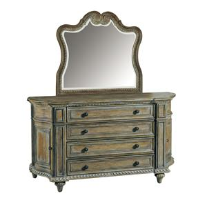 Pulaski Furniture Arabella Curved Dresser & Mirror Set