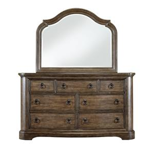 Pulaski Furniture Aurora Dresser & Mirror Set