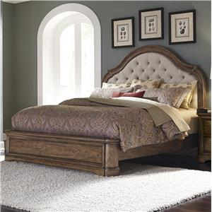 Pulaski Furniture Aurora Queen Upholstered Bed