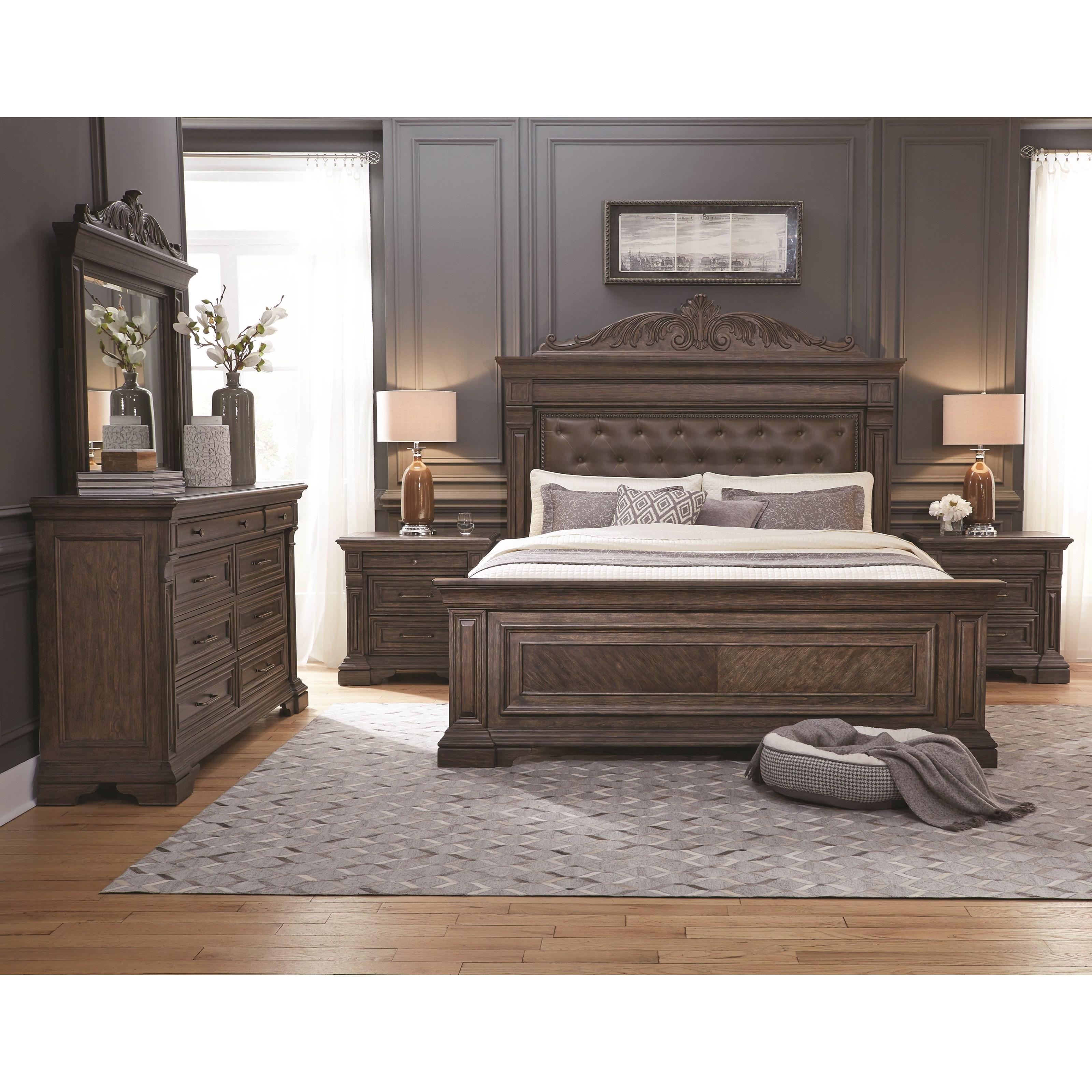 Pulaski Furniture Bedford Heights Queen Bedroom Group