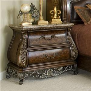 Wonderful Two Drawer Nightstand