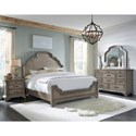 Pulaski Furniture Bristol California King Bedroom Group - Item Number: P1521 CK Bedroom Group 1