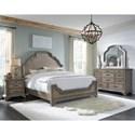 Pulaski Furniture Bristol King Bedroom Group - Item Number: P1521 K Bedroom Group 1
