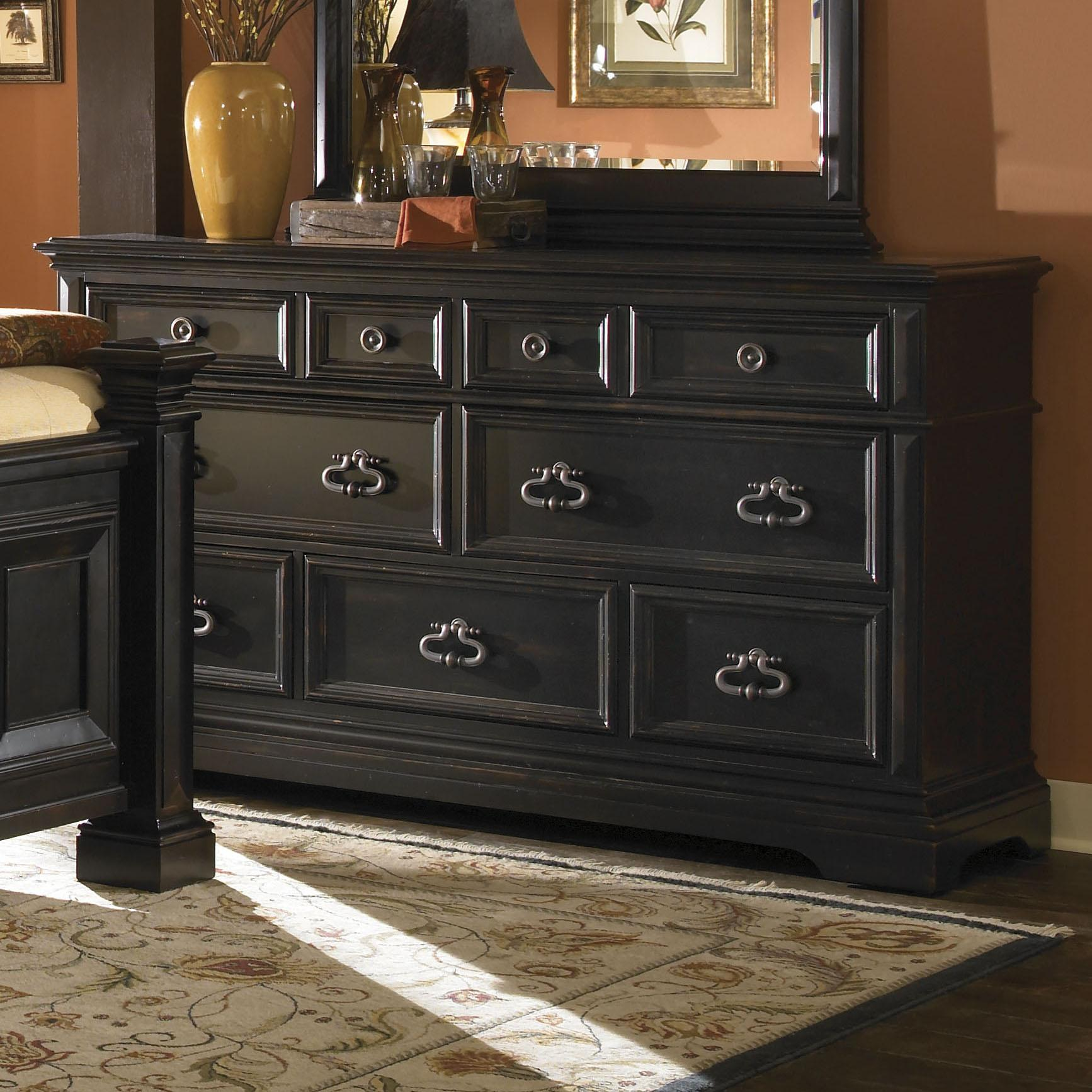 9 Drawer Triple Dresser Charleston, North Charleston, Walterboro,  Summerville Furniture Store   Dixie Furniture
