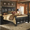 Pulaski Furniture Brookfield King Panel Bed - Item Number: 993180+993181+2x993182