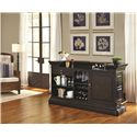 Pulaski Furniture Burton Traditional Bar with Granite Top
