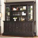 Pulaski Furniture Burton Back Bar - Item Number: 675902+03+04