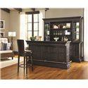 Pulaski Furniture Burton Back Bar with Hutch