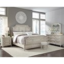Pulaski Furniture Campbell Street California King Bedroom Group - Item Number: P123 CK Bedroom Group 1