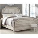 Pulaski Furniture Campbell Street King Panel Bed - Item Number: GRP-P1231XX-KINGBED