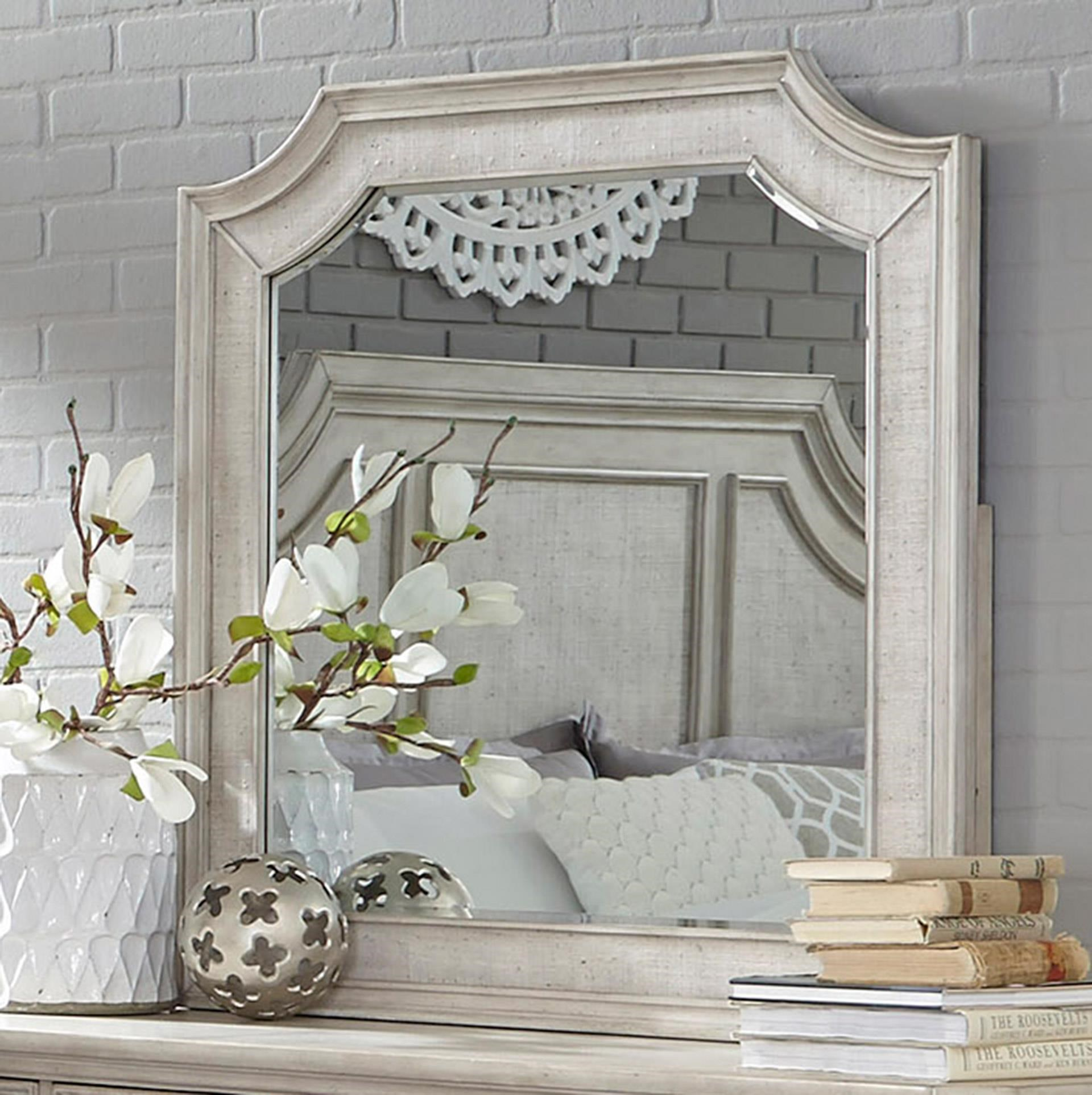 Pulaski Furniture Campbell Street Beveled Mirror - Item Number: P123110