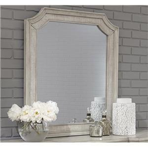Pulaski Furniture Campbell Street Beveled Vanity Mirror