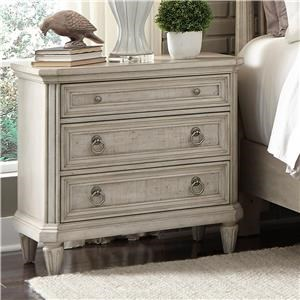 Pulaski Furniture Campbell Street Nightstand with USB Ports