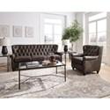 Pulaski Furniture Charlie Living Room Group - Item Number: P927 Living Room Group 1