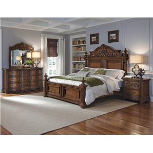 Pulaski Furniture Cheswick Queen Bedroom Group