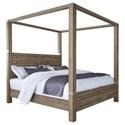 Pulaski Furniture Corridor 16 Queen Canopy Bed - Item Number: P044150+2+1+4