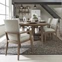 Pulaski Furniture Corridor 16 7-Piece Table and Chair Set - Item Number: P044241+0+4x70+2x71