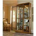 Pulaski Furniture Curios Two Way Sliding Door Curio - Item Number: 20484