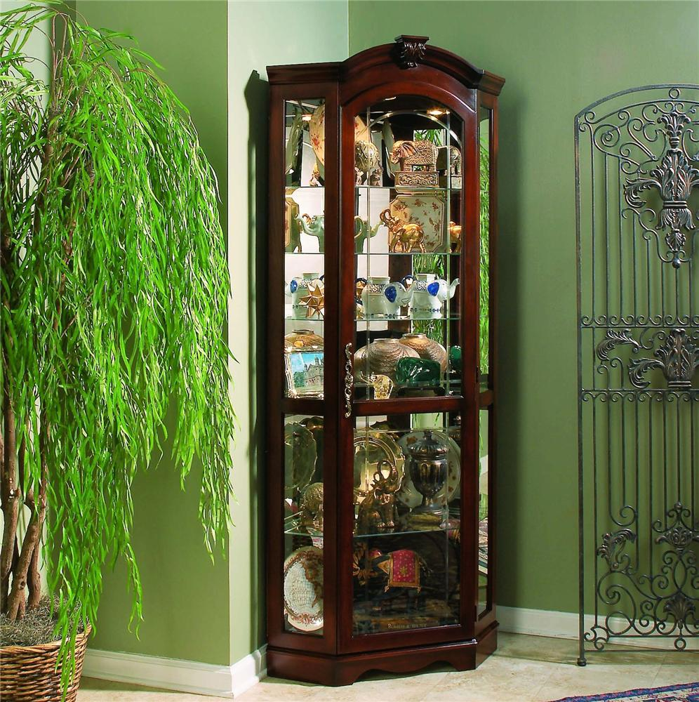 Pulaski Furniture Curios Corner Curio - Item Number: 20671