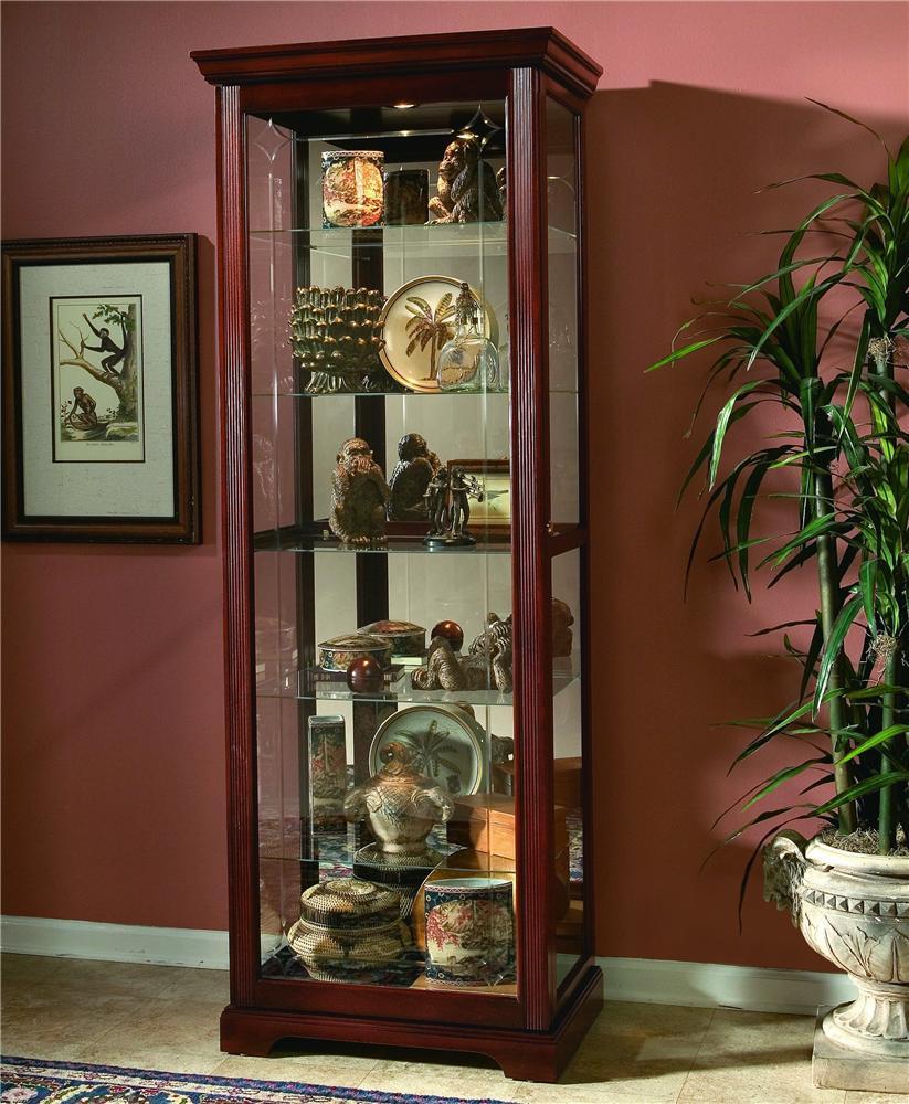 Pulaski Furniture Curios Curio Cabinet - Item Number: 20717