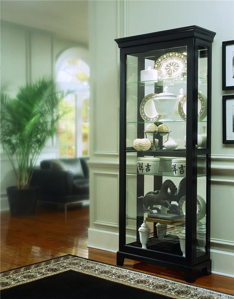 Pulaski Furniture Curios Two Way Sliding Door Curio - Item Number: 20819