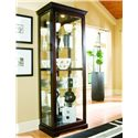Pulaski Furniture Curios Two Way Sliding Door Curio - Item Number: 20994