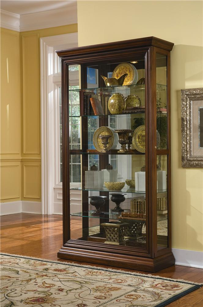 Pulaski Furniture Curios Two Way Sliding Door Curio - Item Number: 21015