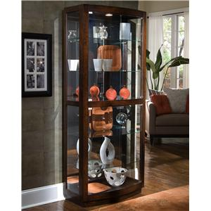 Pulaski Furniture Curios Pacific Heights Curio Cabinet