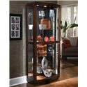 Pulaski Furniture Curios Pacific Heights Curio Cabinet - Item Number: 21221