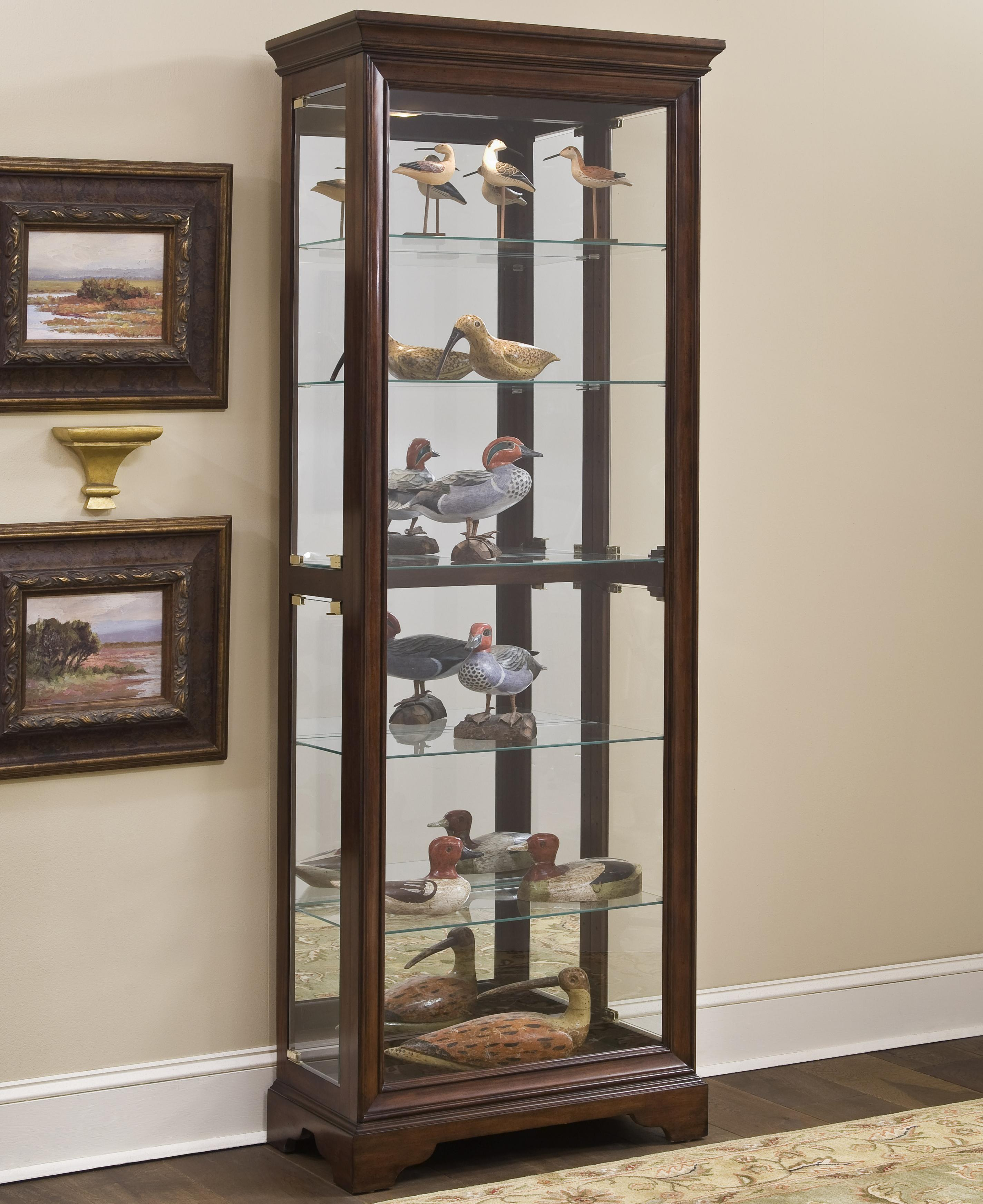 Pulaski Furniture Curios Gallery Curio Cabinet - Item Number: 21308