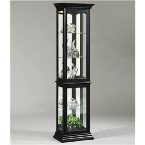 Oxford Black Curio Cabinet