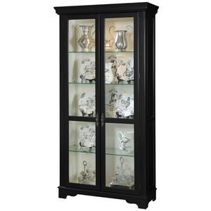 Pulaski Furniture Curios Two Door Curio Cabinet
