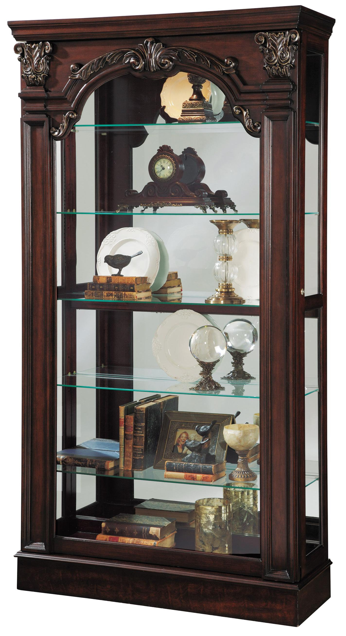 Pulaski Furniture Curios Traditional Style Sliding Front Curio - Item Number: 21432