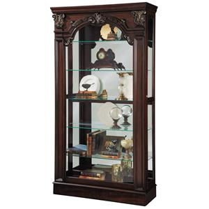 Pulaski Furniture Curios Traditional Style Sliding Front Curio