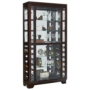 Pulaski Furniture Curios Wine Display Curio
