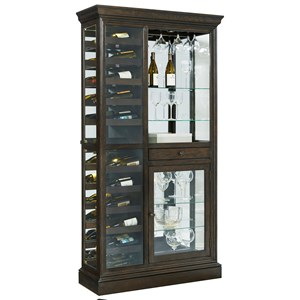 Pulaski Furniture Curios Wine Curio