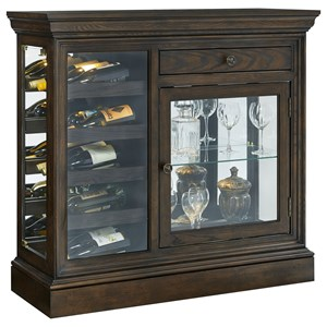 Pulaski Furniture Curios Wine Console