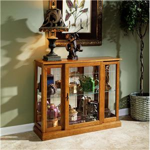 Pulaski Furniture Curios Console