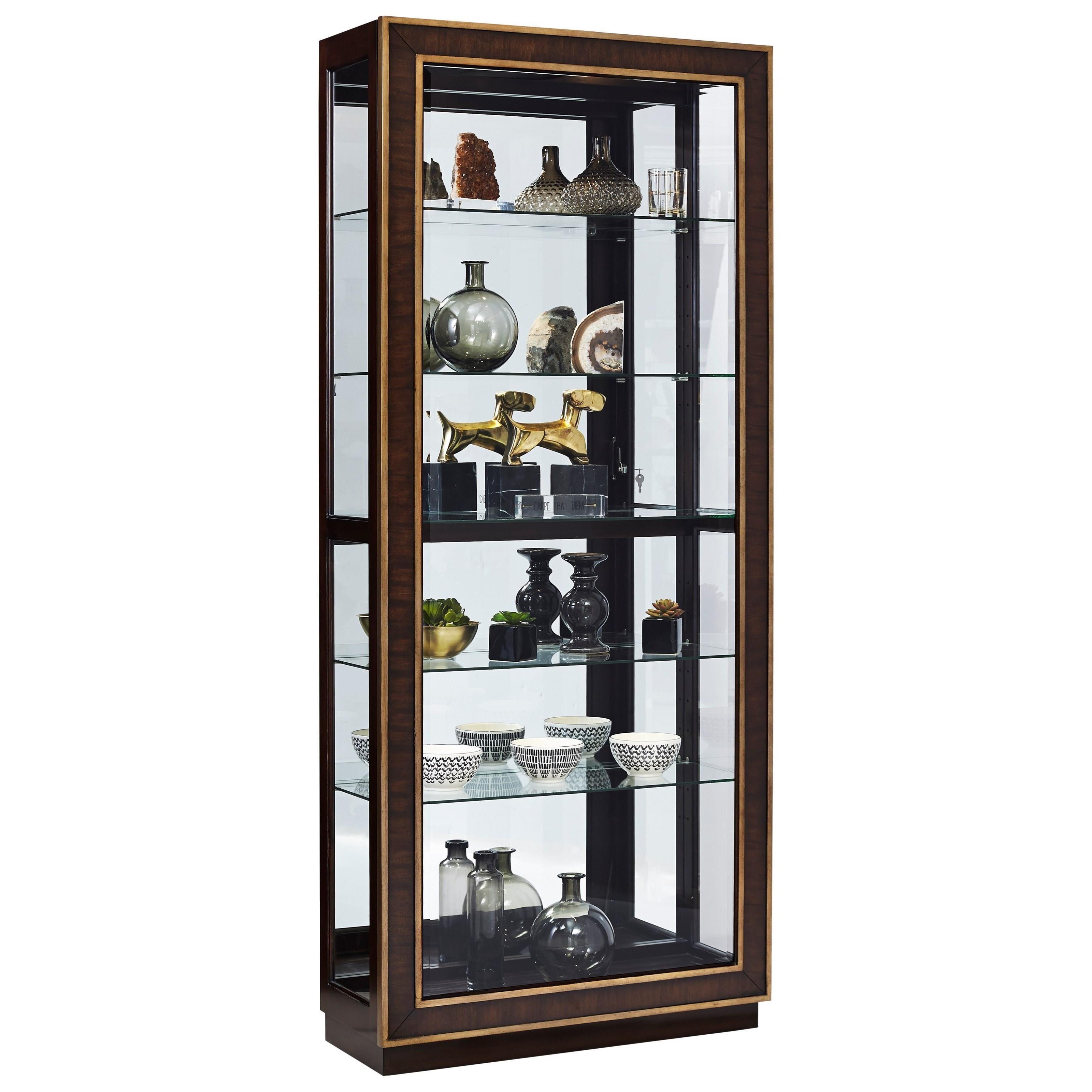 Pulaski Furniture Store: Pulaski Furniture Curios Contemporary Curio With Touch