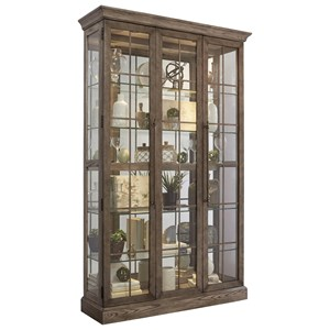 Metal Pane Door Curio