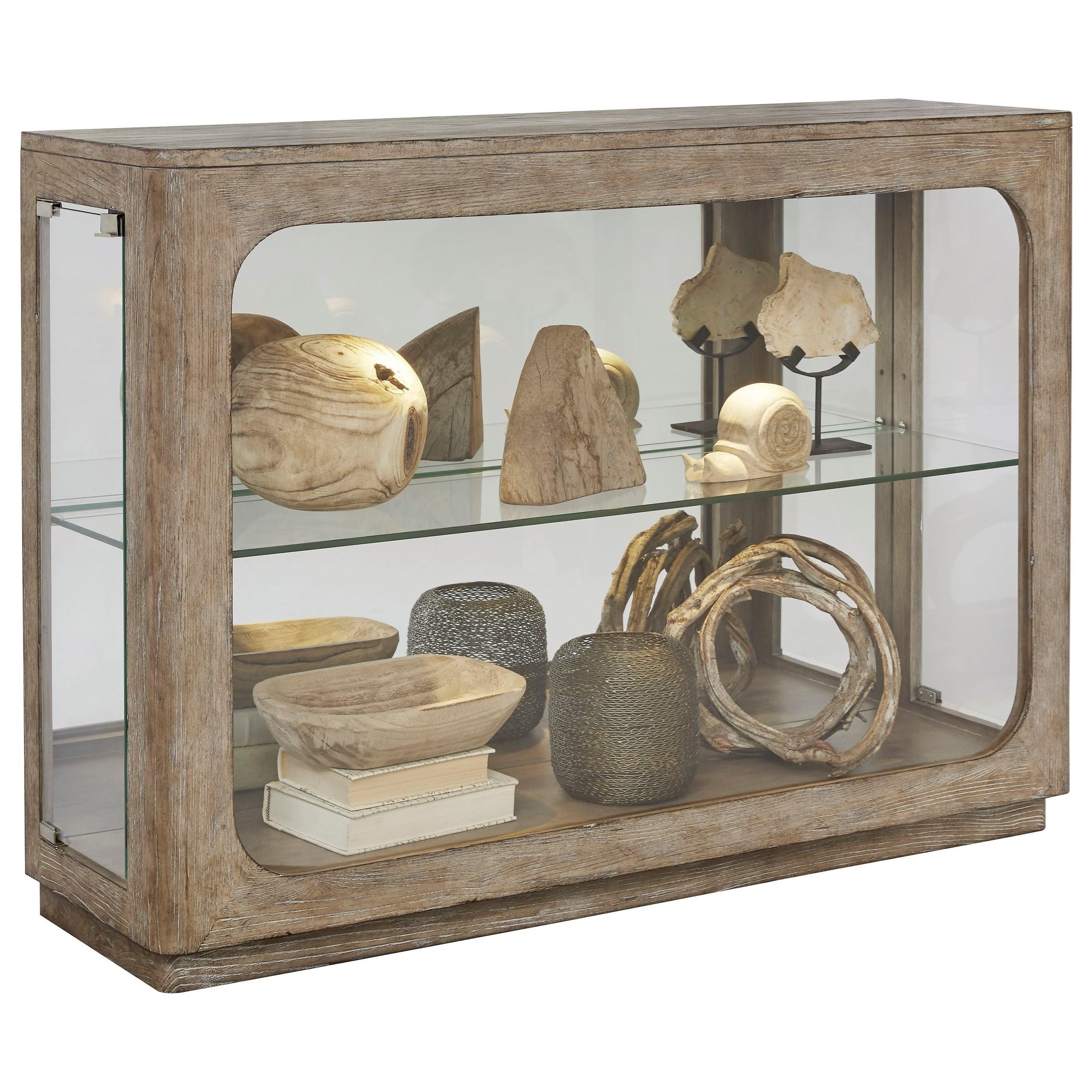 Pulaski Furniture Store: Pulaski Furniture Curios Side Entry Console With Touch