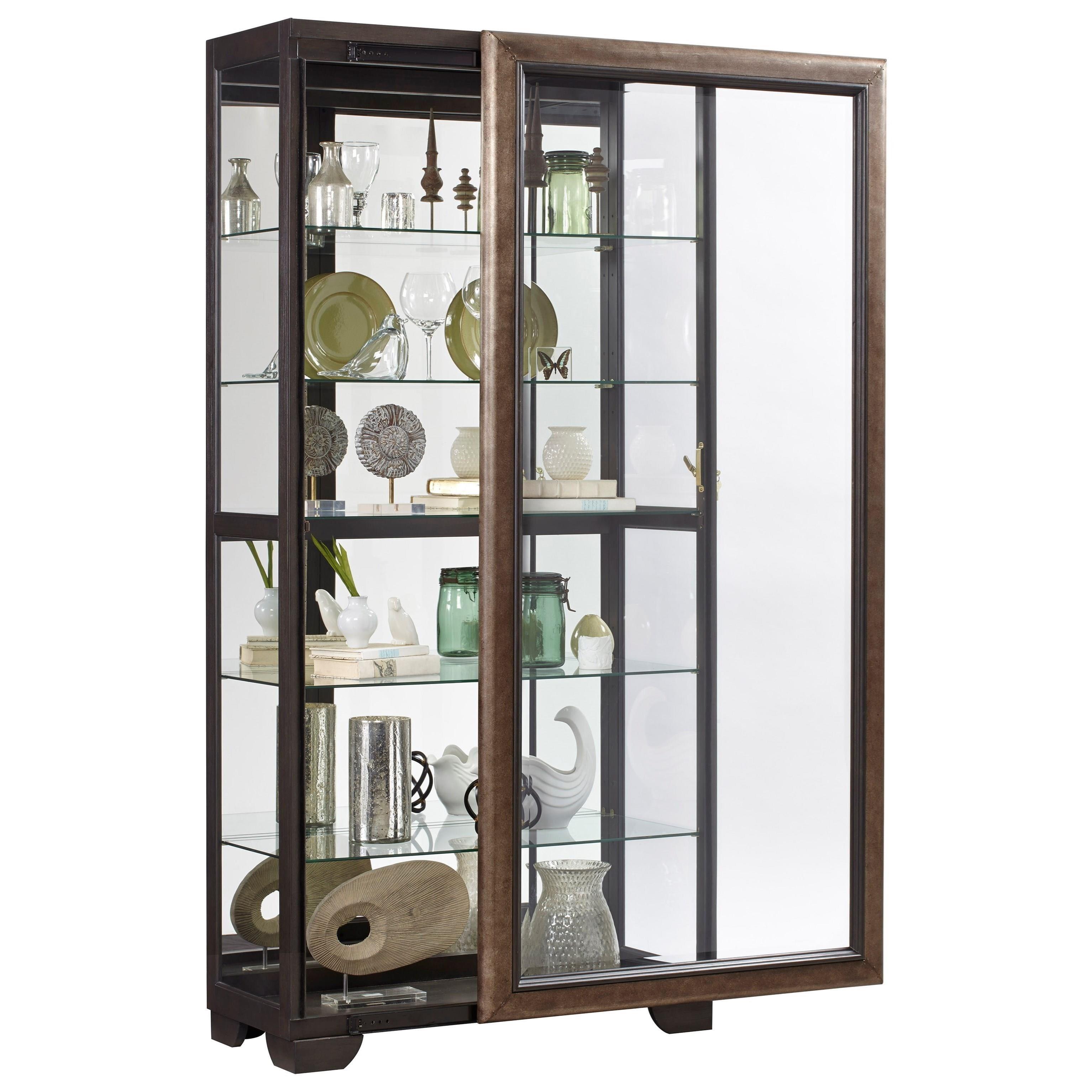 Pulaski Furniture Store: Pulaski Furniture Curios P021652 Sliding Front Curio With