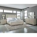 Pulaski Furniture Cydney 9 Drawer Dresser with Polished Nickel Details