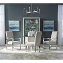 Pulaski Furniture Cydney Upholstered Metal Arm Chair