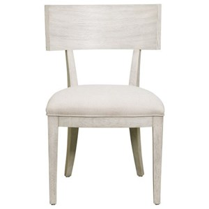 Wood Back Dining Chair